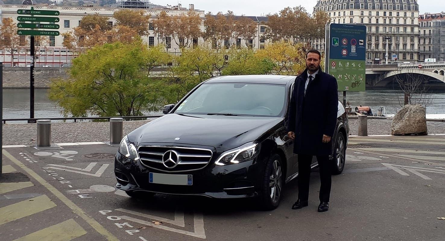 chauffeur vtc lyon centre business sécurité Rhône-Alpes